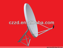 flat satellite antenna KU-90 dish