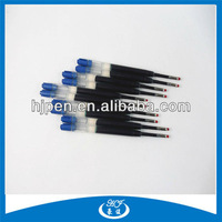 Environment Friendly German Ink Short Ballpoint Pen Refills with Blue and Black Color