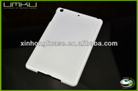 For iPad mini White Color Hard Plastic Blank Phone Case with Best Quality