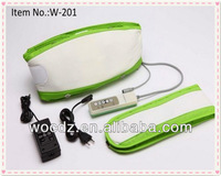 Smart Electronic Pulse Slimming Massager Belt/Vibration Belly Fat Burning Massage Belt Machine Wholesale Manufacturer