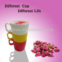 Stackable Recyled PP Plastic 250ml Drinking Cup with Ear