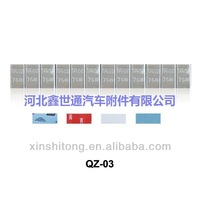 China adhesive wheel weight/tire repair products