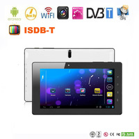 7'' Telechips android tablet DVB-T/ISDB-T support