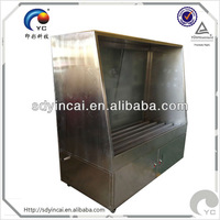 Plate washing machine for screen printing aluminum frame