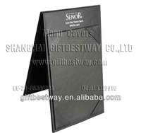 High quality 4''x6'' standing table menu,table tent designs