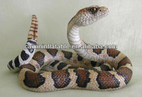 polyresin snake figurine for garden decoration/ polyresin cobra figurine