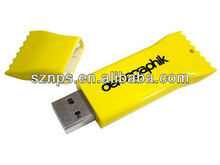 Top sale 100% real capacity candy sweet usb 2.0 flash memory