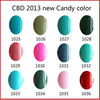 CBD 2013 Hot China Gel Colours UV Gel Polish Nail Beauty