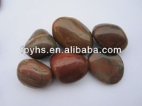 High Light Red River Stone Pebbles Landscape Stone