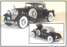 1/32 1930 Packard QUALITY w/MUCH DETAIL- O GAUGE - 434
