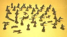 HO 1/72 AIRFIX Vintage German Infantry Type1 48 pieces - 2057