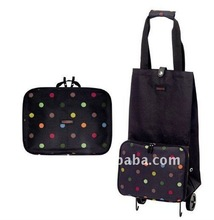 2011 new foldable shopping trolley bag