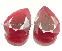 Natural Rare 17.50 Ct African Ruby Gemstone Pair From Africa for Wholesale - Bello Jewels ~ Paypal