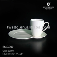 Hotel& wedding porcelain keyboard cup set