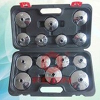 2014 Oil Filter Wrench Set 14pcs auto Vehicle Tools tool for weight and valve and tyre