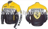MOTORCYCLE RACING LEATHER JACKET MOTORBIKE LEATHER SUIT