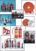 Fire extinguishers. hose & reels, hydrants