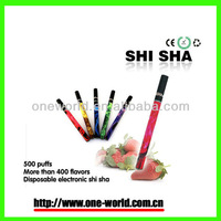 portable shisha refilled cigarettes, disposable cigarette in hookah, e shisha e cigs