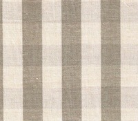 Linen/Cotton Gingham Check Fabric