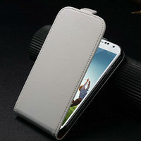 Hot selling best price high quality elegant genuine flip leather case for samsung galaxy s4 i9500