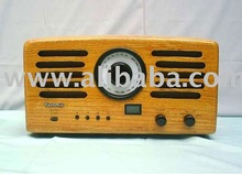 Hand-Made Wooden Radio Receiver
