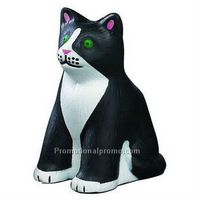Promotional customed PU Cat Stress Reliever, stress Ball, Squeeze Toy