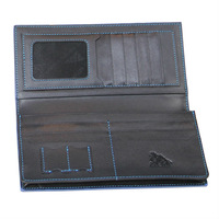 Bifold man leather wallet fashion style