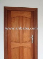 Mahogany Wooden Door