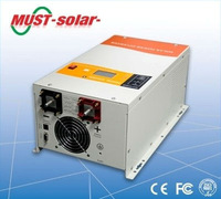 220v 50hz 110v 60hz converter with pure sine wave & solar MPPT controller for home/ office/ industrial use
