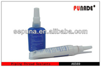 High viscosity anaerobic adhesive glue/ thread locking sealant glue