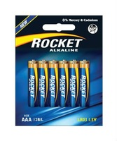 LR03, AAA size, 12 Blister packing, Alkaline
