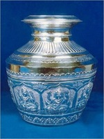 indian Silver Pot