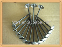 galvanized umbrella head roofing nails factory with high quality and reasonable price