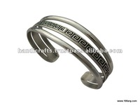 NICKEL SILVER OPEN TRIPLE BRACELET