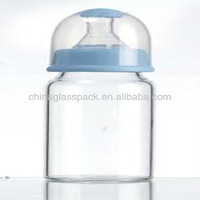 Heat Resistance Glass Milk Bottle With High Quality