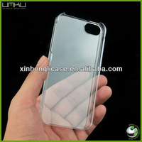 for iPhone 5C Crystal Case,DIY Phone Case for iPhone 5C Hard Clear Case