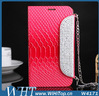 For Samsung Galaxy Note 2 N7100 Luxury Diamond Leather Wallet Case