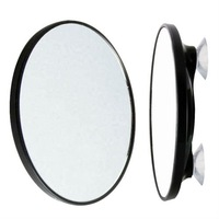 Shaving suction 3X magnifying mirror (small)