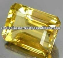 FASHION Cut Loose Stone Natural Yellow