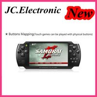 4.3 inch Android 4.0 Amlogic M3 1.0GHz DDR3 512MB RAM 4GB ROM 0.3MP Camera Wifi Free Download Games MP5 Game Player