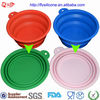 13cm Portable Novelty Silicone Pet Collapsing Water Bowl