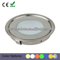 12V Stainless Steel LED Uplight Set Floor Recessed Lamp Kit 9mm Only (SC-B101A)