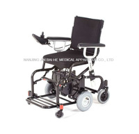 Folding aluminium lightweight portable electric wheelchair under $1000