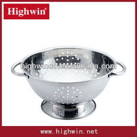 stainless steel stain polished fruit basket