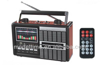 Rechargeble AM/ FM /SW1-2 Radio receiver with Remote control