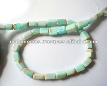 Natural Peru Opal Plain Tumble Calibrated Loose Beads