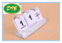 2014 wholesale aluminum alloy desk calendar