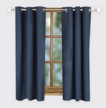 blackout lined eyelet curtains hot sale in the world