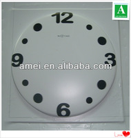 Plastic clock display products,vacuum forming display stand
