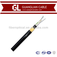 Hot selling Aerial 12, 24, 48 Core optical power composite cable